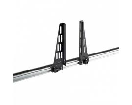 Krovinio laikikliai - Evo Rack Alu stogo platformai