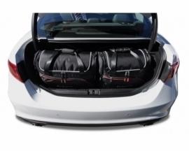 ALFA ROMEO GIULIA 2015+   CAR BAGS SET 4 PCS