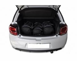 CITROEN DS3 HATCHBACK 2009-2016 | CAR BAGS SET 3 PCS