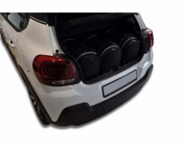 CITROEN C3 HATCHBACK 2016+ | CAR BAGS SET 3 PCS