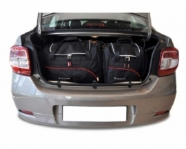 DACIA LOGAN LIMOUSINE 2012+   CAR BAGS SET 5 PCS