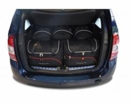 DACIA DUSTER 2010-2017   CAR BAGS SET 5 PCS