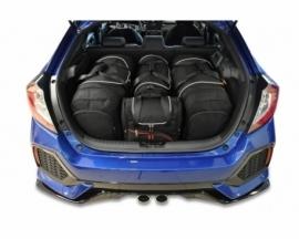 HONDA CIVIC HATCHBACK 2017+ | CAR BAGS SET 4 PCS