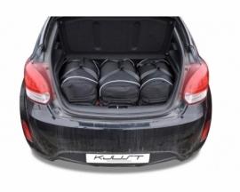 HYUNDAI VELOSTER COUPE 2011-2014   CAR BAGS SET 3 PCS