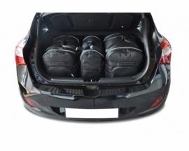 HYUNDAI i30 HATCHBACK 2012-2016   CAR BAGS SET 3 PCS