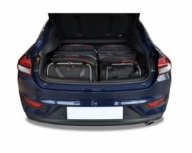 HYUNDAI i30 FASTBACK 2017+   CAR BAGS SET 4 PCS