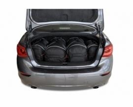 INFINITI Q50 HYBRID 2013-2017 | CAR BAGS SET 4 PCS