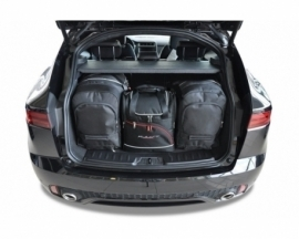 JAGUAR E-PACE 2017+   CAR BAGS SET 4 PCS
