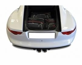 JAGUAR F-TYPE COUPE 2013+   CAR BAGS SET 3 PCS