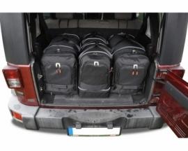 JEEP WRANGLER 2006-2018   CAR BAGS SET 4 PCS