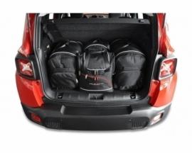 JEEP RENEGADE 2014+   CAR BAGS SET 4 PCS