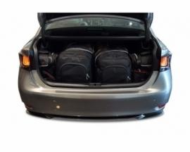 LEXUS GS HYBRID 2012+ | CAR BAGS SET 4 PCS