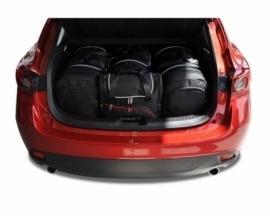 MAZDA 3 HATCHBACK 2013-2018   CAR BAGS SET 4 PCS