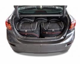 MAZDA 3 LIMOUSINE 2013-2018   CAR BAGS SET 5 PCS