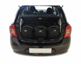 NISSAN MICRA 2010-2017   CAR BAGS SET 3 PCS