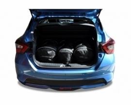 NISSAN MICRA 2017+   CAR BAGS SET 3 PCS