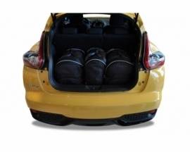 NISSAN JUKE 2010-2019   CAR BAGS SET 3 PCS