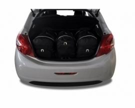 PEUGEOT 208 HATCHBACK 2012-2015   CAR BAGS SET 3 PCS