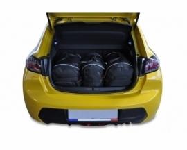 PEUGEOT 208 HATCHBACK 2019+   CAR BAGS SET 3 PCS