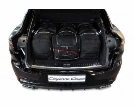PORSCHE CAYENNE COUPE 2019+   CAR BAGS SET 4 PCS