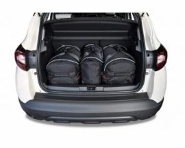 RENAULT CAPTUR 2013-2019   CAR BAGS SET 3 PCS