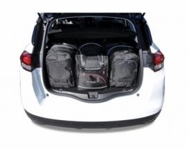 RENAULT SCENIC 2015-   CAR BAGS SET 4 PCS