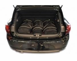 RENAULT CLIO HATCHBACK 2019+   CAR BAGS SET 3 PCS