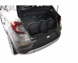 RENAULT CAPTUR 2019+   CAR BAGS SET 3 PCS