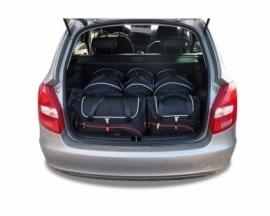 SKODA FABIA KOMBI 2007-2014   CAR BAGS SET 5 PCS