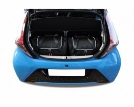 TOYOTA AYGO 2014+ | CAR BAGS SET 2 PCS