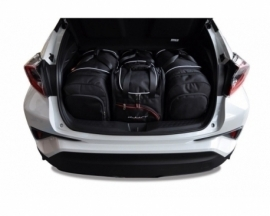 TOYOTA C-HR 2016+   CAR BAGS SET 4 PCS