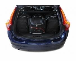 VOLVO V60 CROSS COUNTRY 2015-2018   CAR BAGS SET 4 PCS