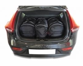 VOLVO V40 HATCHBACK 2012+   CAR BAGS SET 3 PCS